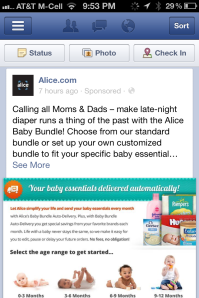 facebook marketing fail